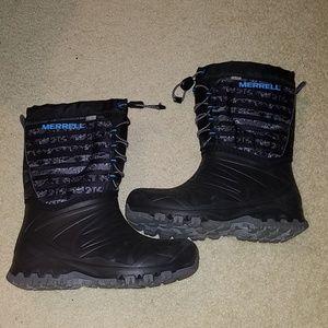 Merrell winter boots size 4 boys
